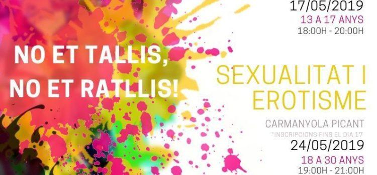 JOVENTUT.BLANES: tallers de sexualitat