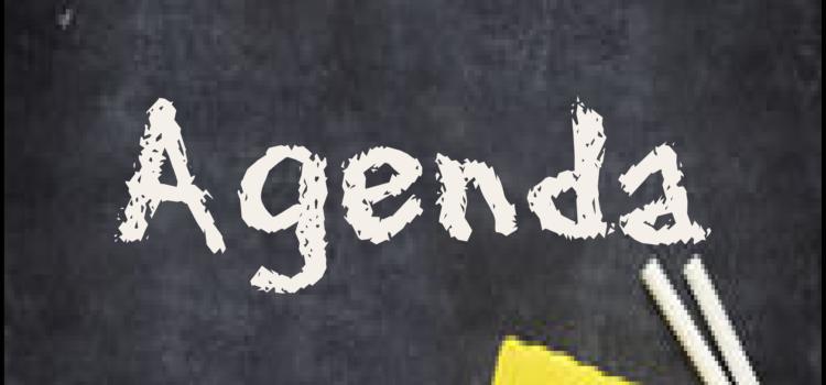 AGENDA: Octubre 2020